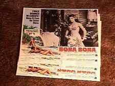 BORA BORA LOBBY CARD SET 1970 EXPLOITATION