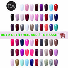 RA Gellack UV LED Gel Polish Nagellack Top Base Coat GEL Nail Art French Nagel