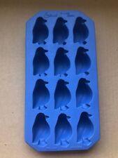 Lekue Arctic Blue Bird Penguin Ice Cube Mold Tray