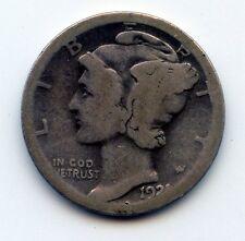 1921-d Mercury dime  (SEE PROMO)