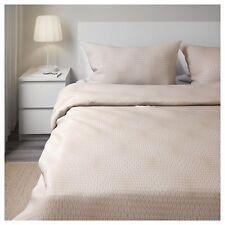 IKEA Bettwäsche 240x220 Bett Garnitur Decke Landhaus Chic Neu OVP 100% Baumwolle