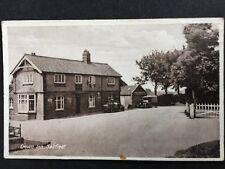 RP Vintage Postcard - Lincs #C15 - Crown Inn, Saltfleet - 1933 Motor Car - Scrap
