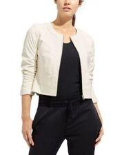 Athleta & Derek Lam Dove Sleek Leather Jacket size LARGE retail $498