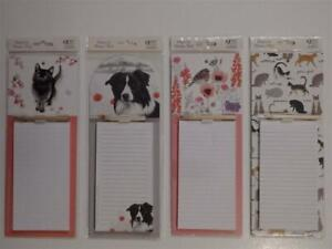Magnetic Memo Pad with Pencil (Choice of 4)