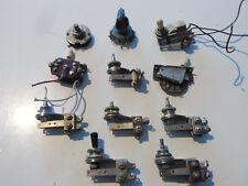 set di 11 selettori vari anni '70 per chitarre elettriche Fender o Gibson