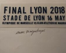 PARCHE FINAL EUROPA LEAGUE 2018 LYON OLYMPIQUE DE MARSEILLE - ATLÉTICO MADRID