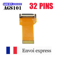 Nappe 32 PINS NEUF Game Boy Advance AGS 101 mod GBA SP adapter rétro-éclairé