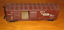 Vintage O Scale/Gauge,Freight/Box Car,Wood-Brass Scratch-Built Kit,Chicago & NW