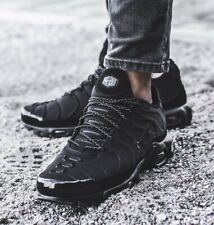 Nike Air Max Plus SE 'Triple Black' 918240-002 Size UK 7 EU 41 26cm New
