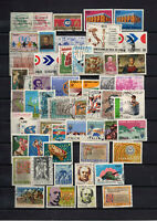 56 Timbres Italie 1969/72