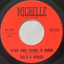 Dale & Grace - Stop and Think It Over, Vinyl, 45rpm, 1964, MX-923, Very Good