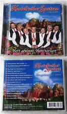 KASTELRUTHER SPATZEN Herz gewinnt, Herz verliert ..  2008 Koch CD NEU/UNGESPIELT