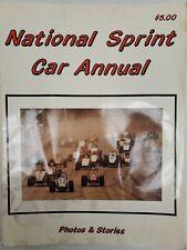 National Sprint Car Annual Brown 1988 USAC CRA Jeff Gordon