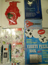Gift Set Variety Puzzle Book Scissors Necklace Gloves Dream Catcher Pen Coloring