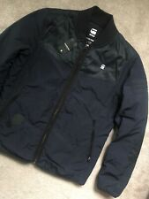 "G-STAR RAW MAZARINE BLUE ""SETSCALE OVERSHIRT"" BOMBER JACKET COAT - M - NEW TAGS"
