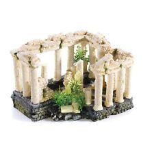 Cuadrado clásico columna romana 195mm Ornamento de acuario peces