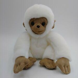"""Gund Mooch White Baby Monkey Soft Plush 405679 Tan 9"""""""