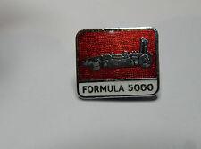 formula 5000 badge vintage enamel badge