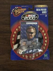 Winner's Circle #2 Rusty Wallace NASCAR 1/64 Diecast Sneak Preview Series 2000