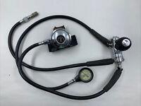 Vintage Aqua Lung Calypso IV Regulator Gauge Set