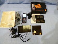 Samsung SGH-J700 Violet Retro Slide Téléphone Mobile Bloqué Orange Box Accessories