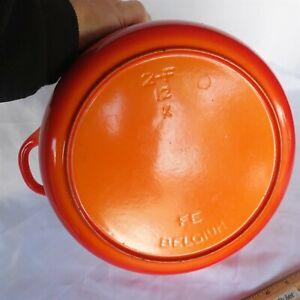 "Vtg DESCOWARE 2-F Dutch oven Stock pot 10 3/8"" diameter 5 Qt. Mint Condition"