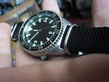 nice gents 1980s british navy  military divers style quartz  watch