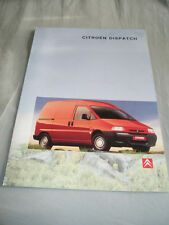 Citroen Dispatch brochure Oct 1997 Irish market