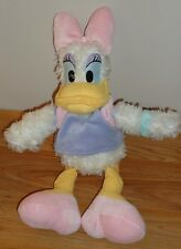 "Disney Parks DAISY DUCK 14"" stuffed plush"