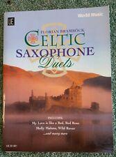 Florian Brambock Celtic Saxophone Duets Sheet Music Book