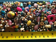 One Pound Jewelry making supplies Assorted Mix Glass bone other Beads