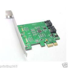 PCI-E Express a a 2 puertos sataiii SATA 3.0 extender mapa con cable SATA verde