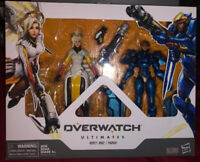 Overwatch Ultimates Series Pharah Mercy ange Collectible Action Figure Dual Pack