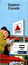 1966 Citgo Road Map: Eastern Canada NOS