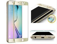 Samsung Galaxy S6 Edge Gold 4D Clear HD Tempered Glass Screen Protector deal