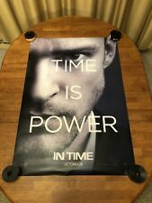 In Time (Justin Timberlake) 27x40 D/S Movie Poster New!