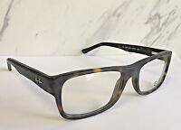 New Ray Ban Eyeglasses Matte Tortoise Frames Model No. RB5268-5211 (Frames Only)