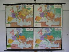 Scheda crocifissi Map formazione di stati europei, Europe AB 16.jh 204x164 scheda