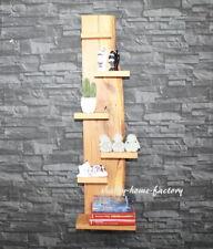 Wandregal fertig montiert Regal Eiche rustikal massiv geölt Eichenbrett #237