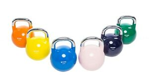 POWERT Competition Kettlebell Coated Cast Steel Weight Lifting Training