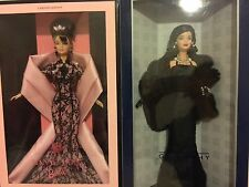 Limited edition, 2 lot, Givenchy and Hanae mori barbie dolls