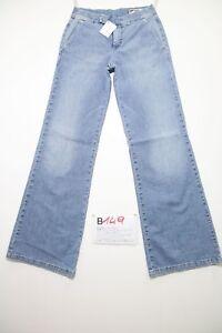Gas Bootcut (Cod.B149) Tg.40 W26 L30 Femme Boyfriend Jeans Utilisé Taille Basse