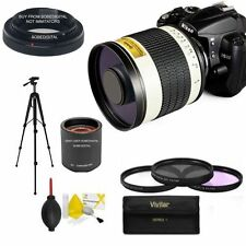 HD F/6.3 TELEPHOTO ZOOM LENS 500-1000MM + TRIPOD FOR NIKON D3100 D3200 D3300 D90
