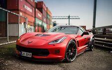 2016 Chevrolet Corvette c7 z06 red 24X36 inch poster, sports car