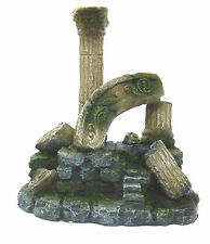 Single Roman Column Ancient Ruin Aquarium Ornament Fish Tank Decoration