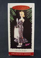 Hallmark BARBIE Solo in the Spotlight Collector Series Xmas Ornament (1995). NEW