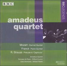 Amadeus Quartet Mozart Clarinet Quintet Franck Piano Quintet Richard Strauss BBC