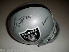 JACOBY FORD AUTOGRAPHED OAKLAND RAIDERS PRO LINE HELMET NFL