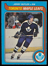 1979 80 OPC O PEE CHEE #393 JERRY BUTLER NM TOROMTO MAPLE LEAFS HOCKEY CARD
