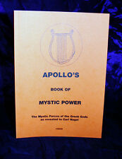 APOLLO'S BOOK OF MYSTIC POWER, Carl Nagel, Finbarr Grimoire Occult, Magick